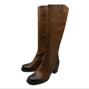 Jessica Simpson Tall Ombré Leather Boots Sz 10 NEW
